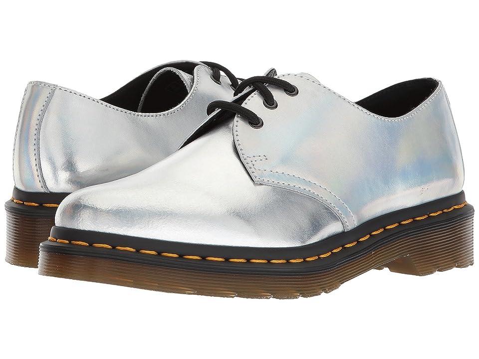 Dr. Martens 1461 RS 3-Eye Shoe (Silver Lazer Reflective Metallic Leather) Women
