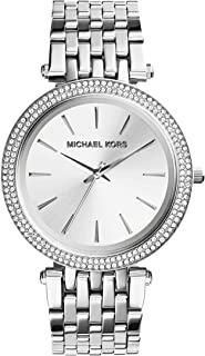 Michael Kors For Women Silver Dial Stainless Steel Band Watch - MK3190
