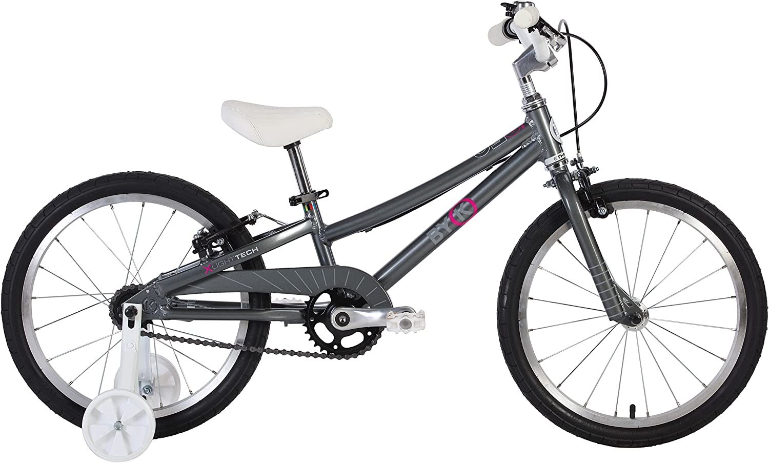 BYK E350G Girls 18  Bike Charcoal