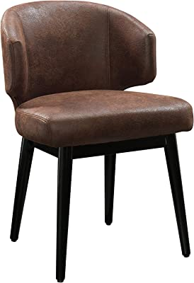 Amazon Com Homelegance 489wt Warner Faux Leather Accent