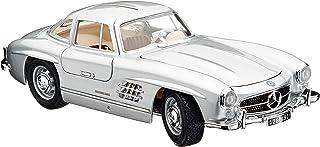 Bauer Spielwaren 18 12047S Mercedes Benz 300 SL '54 Modellauto im Maßstab 1:18, Silber