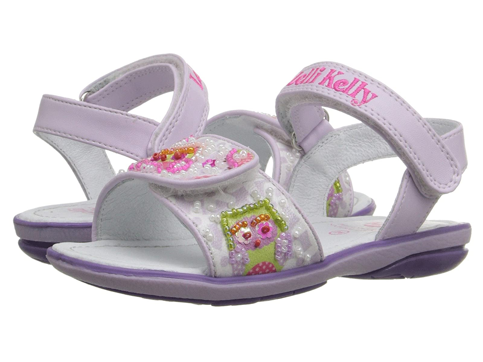 Lelli Kelly Kid) Kids Owls Sandal (Toddler/Little Kid) Kelly 7a7421