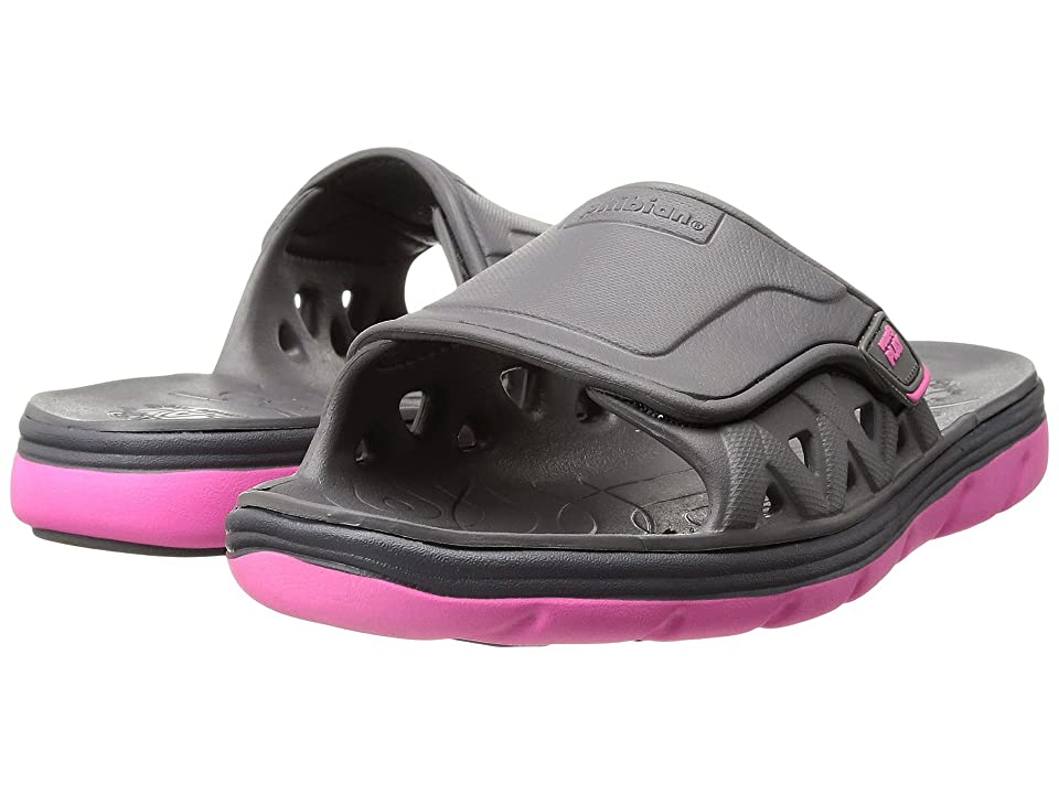 Stride Rite Made 2 Play Phibian Slide (Toddler/Little Kid) (Grey/Pink) Girl