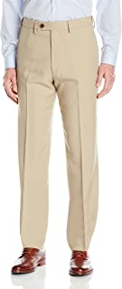 Haggar Men's eCLo Stria Expandable-Waist Plain-Front...