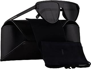 Dior - Christian tie247S gafas de sol w/grises de la lente de 60mm 8072K tie 247S Tie247S Tie 247S hombre Negro Grande