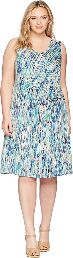 Plus Size Mirage Twist Dress