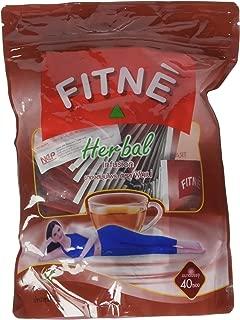 Fitne Herbal Infusion Original Senna Slimming Tea 40 Bags Made Thailand