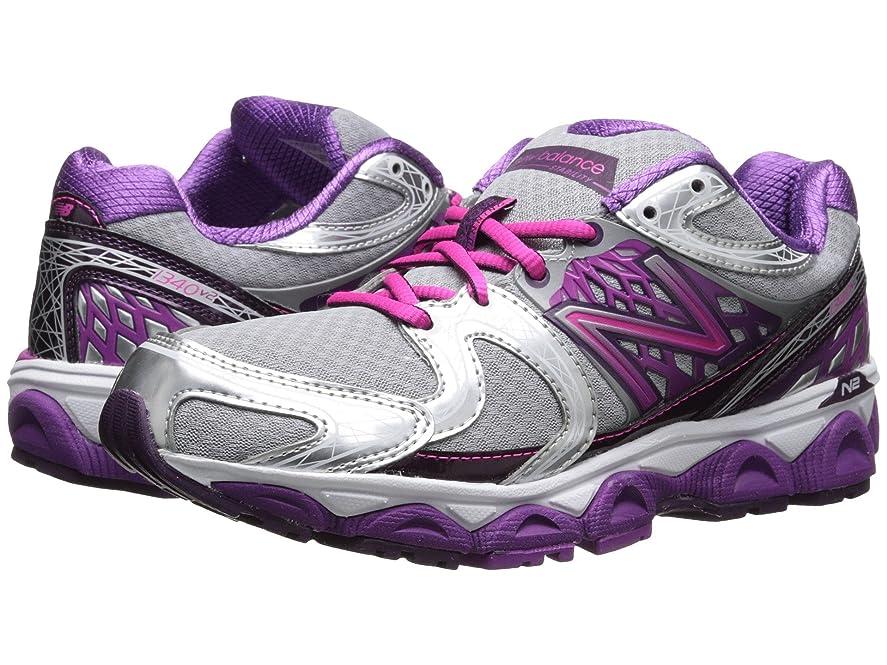 特に強化する監督する(ニューバランス) New Balance レディースランニングシューズ?スニーカー?靴 W1340v2 Silver/Pink 10.5 (27.5cm) B - Medium