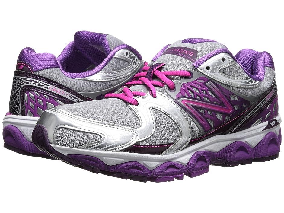説教アナログ予測する(ニューバランス) New Balance レディースランニングシューズ?スニーカー?靴 W1340v2 Silver/Pink 7 (24cm) B - Medium