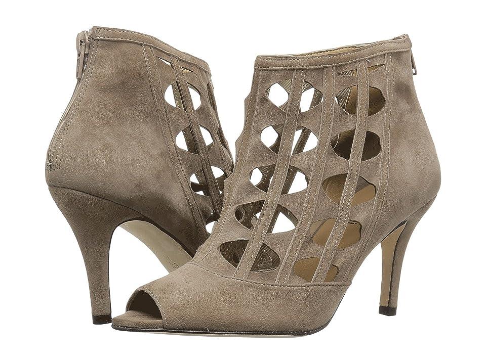 Vaneli Petal (Truffle Suede) High Heels