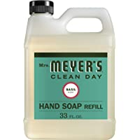 Mrs. Meyers Liquid Hand Soap Refill, Basil Scent, (33 Oz.)