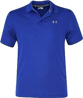 Under Armour Men UA Golf Performance Logo Polo T-Shirt TOP GAME ROYAL (S)