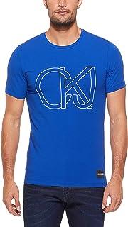 CALVIN KLEIN Jeans Men's Block Chest Print T-Shirt