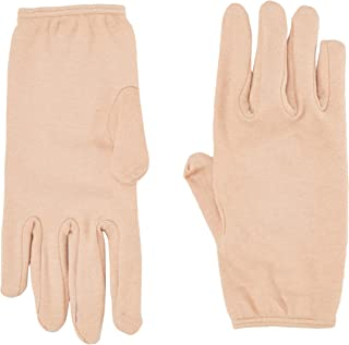 Kuber Industries™ Cotton Hand Gloves (1 Pair) Cream (KI01126)
