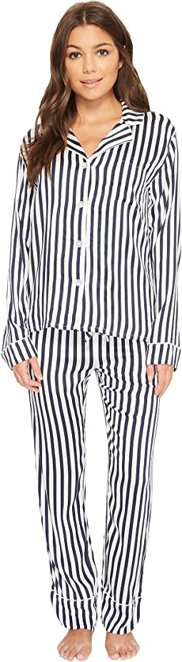 P.J. Salvage Soul Mates Striped PJ Set