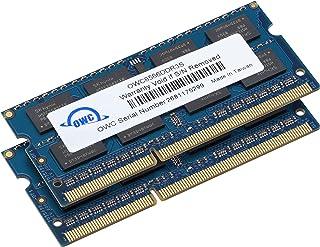 OWC 4.0 جيجابايت (2X 2GB) PC8500 DDR3 1066 MHz 204-pin عدة تحديث الذاكرة لـ MacBook Pro, MacBook, Mac Mini و iMac, (OWC856...