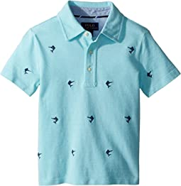 Polo Ralph Lauren Kids - Knit Cotton Oxford Shirt (Toddler)