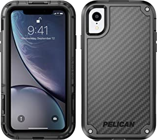 Pelican Shield iPhone XR Case with Kevlar Brand fibers (Black)