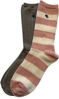 Lauren Ralph Lauren Women's 2 Pairs Trouser Socks Sz 9-11