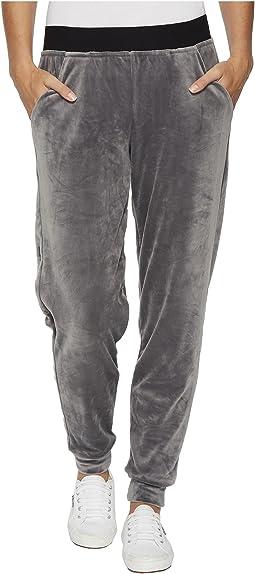 HUE - Velour Track Pants