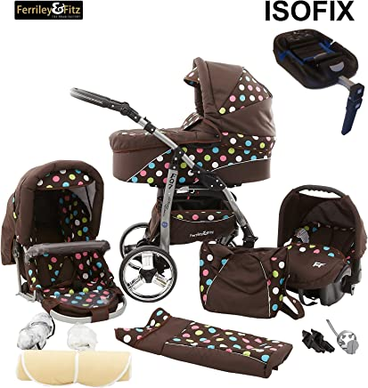 Amazon.es: isofix - Ferriley & Fitz / Carritos, sillas de ...