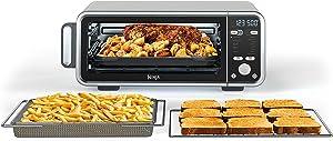 Ninja SP301 Foodi 13-in-1 Dual Heat Air Fry Oven, Stainless Steel and Black