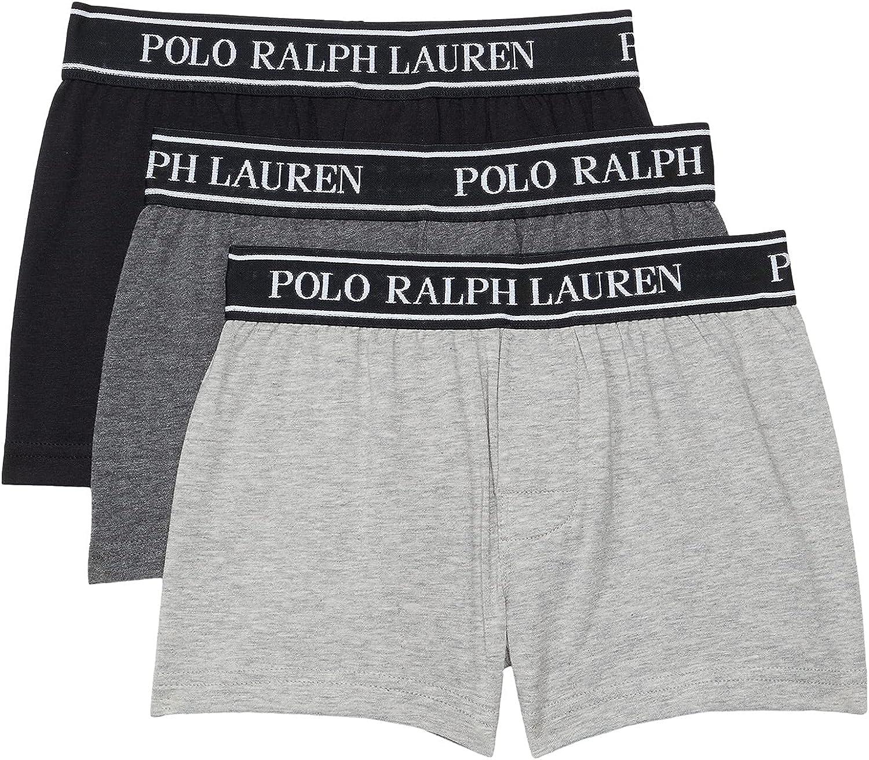 Polo Ralph Lauren Boy's P3 Stretch Cotton Blend Knit Boxers (Little Kids/Big Kids)