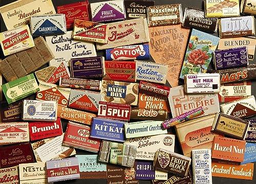 Gibsons Sweet Memories der 1940er-Puzzle. (1000 ück)