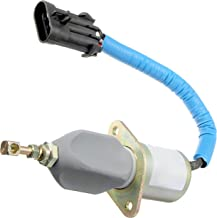 APDTY 134166 Fuel Shut Off Solenoid Fits 1994-1998 Dodge RAM 2500 3500 (Models with 5.9L Diesel; Replaces 5016244AB, SA-4981-12, SA49811, 5016244AA, 3800723, 3923201,3931570)