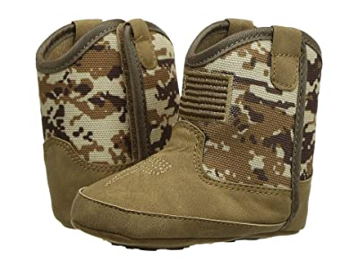 M&F Western Kids Patriot (Infant/Toddler) (Medium Brown/Camo) Boys Shoes