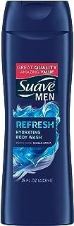 Suave Men Body Wash, Refresh, 15 oz