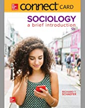 Connect Access Card for Schaefer Sociology a Brief Introduction