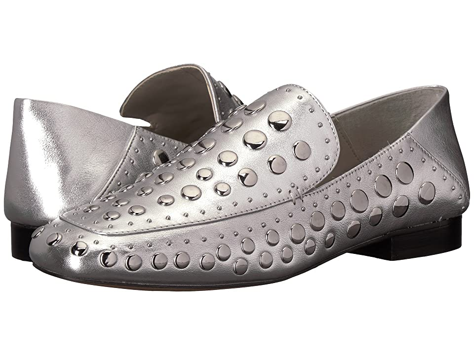 1.STATE Flintia (Bright Silver Metallic Mooshie) Women