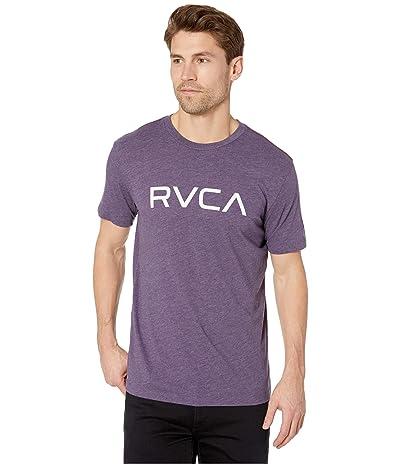 RVCA Big RVCA T-Shirt Short Sleeve (Deep Purple) Men