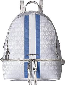 c8e44707c747 Grecian Blue Multi. 3. MICHAEL Michael Kors. Rhea Zip Medium Backpack
