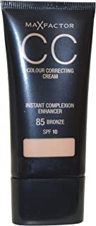 2 x Max Factor CC Colour Correcting Cream SPF10 30ml Sealed - 85 Bronze