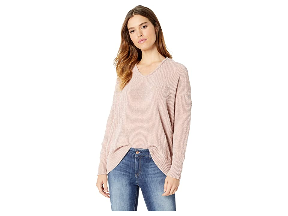 Splendid Aurora Chenille Sweater (Pink Beige) Women