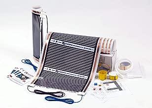 11m2 Kit de /électrique Chauffage au Sol Film Chauffant sous Parquet Bois ou Stratif/é 220W//m2 Heating floor