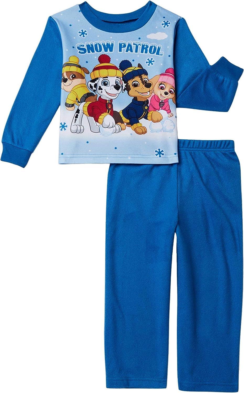 Nickelodeon Little Boys Toddler Paw Patrol 2 Piece Pajama Set