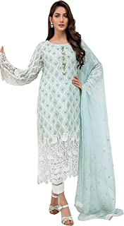 ARIA FABRICS Women Dress Material georgette Salwar suit