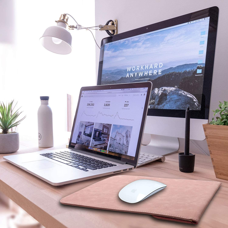Dell XPS 13 Baby Rosa Faux Wildleder Schutzh/ülle 2016-2020 MacBook Pro 13 TECOOL 13 Zoll Laptop H/ülle Tasche und Zubeh/örtasche f/ür 2018-2020 MacBook Air 13 M1 A2337//A1932//A2179 Surface pro X 7