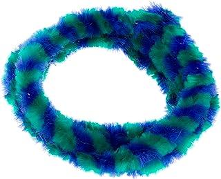 Paar Nabenputzringe   grün/ blau   (vorne & hinten) für Nabe Ø168 mm, 560 mm lang