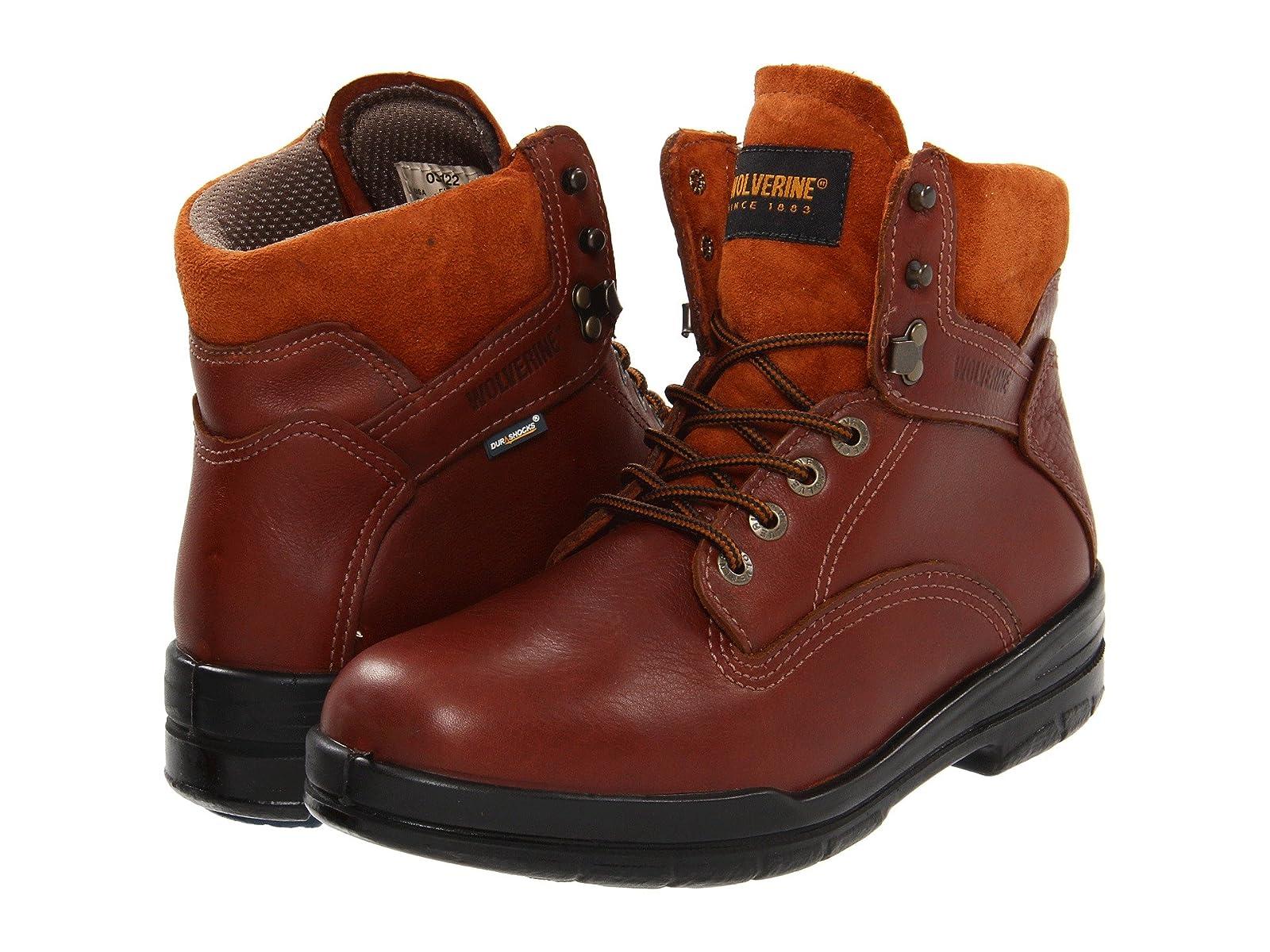 "Wolverine 6"" DuraShocks® SR BootEconomical and quality shoes"