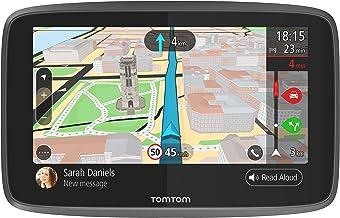 TomTom GO 6200, GPS para coche, 6 pulgadas, llamadas manos