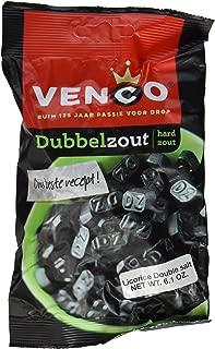 Venco Double Salt Licorice 6.1 Oz (Pack of 4)