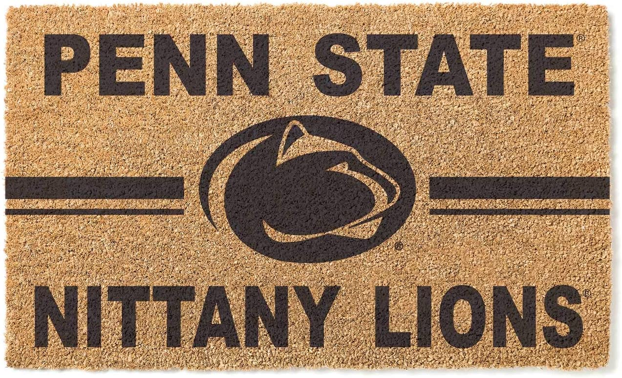 KH Sports Fan Penn State Max 71% OFF Nittany Max 68% OFF M Logo Lions Coir Doormat Team