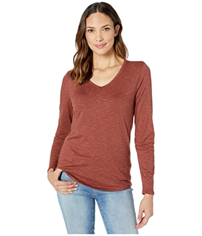 Toad&Co Marley Long Sleeve Tee (Paprika) Women