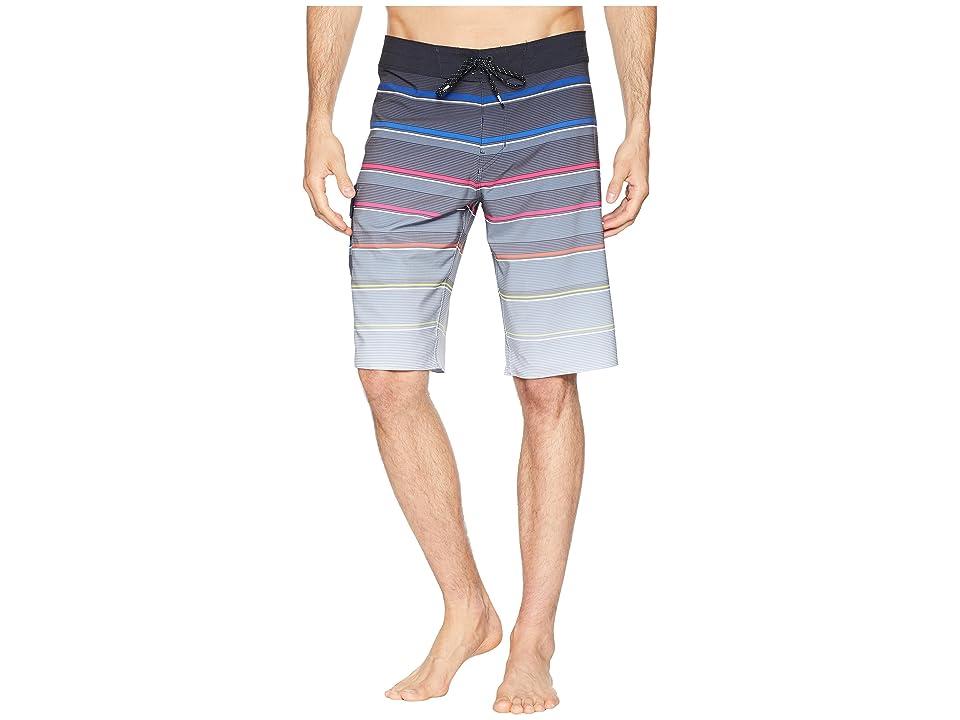 Billabong All Day X Stripe Boardshorts (Stealth) Men