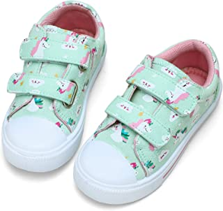 STQ Toddler Boys & Girls Slip On Canvas Sneakers