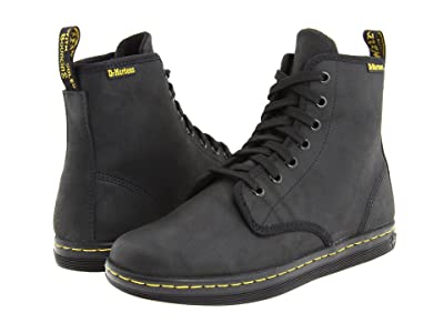 Dr. Martens Shoreditch (Black Greasy Lamper) Women